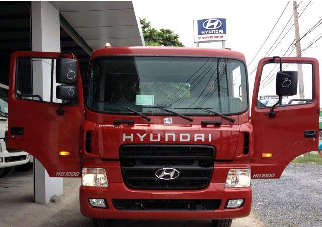 Gương chiếu hậu xe đầu kéo Hyundai HD1000